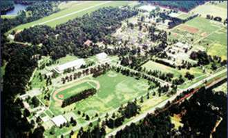 Arial view of the campus