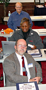 Prison chaplains and staff training to implement the new faith-based program