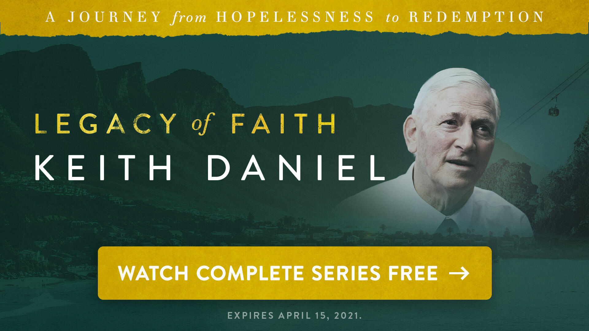 Watch Legacy of Faith Keith Daniel complete series until 4/15