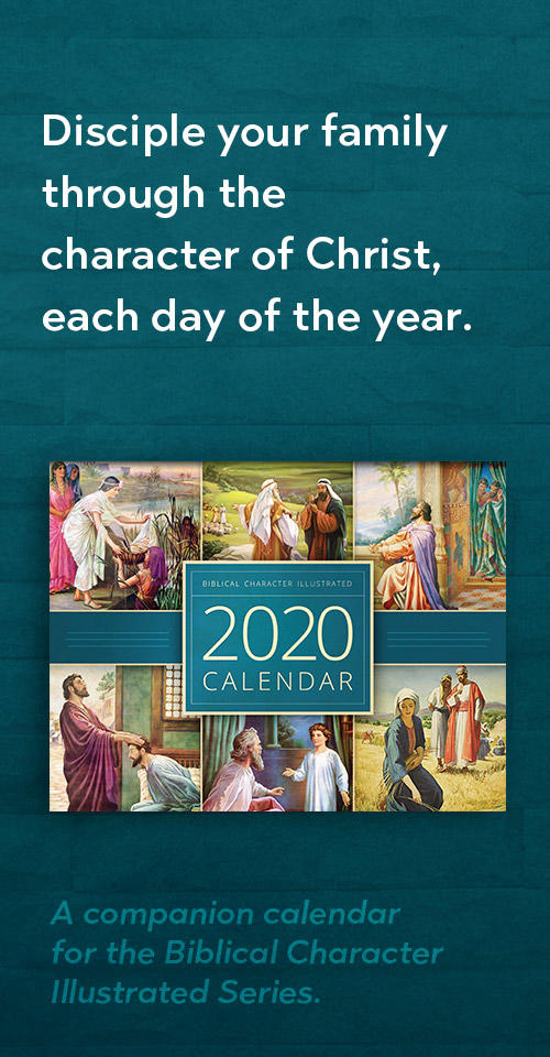 Order your 2020 Biblical Character Calendar today!