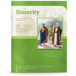 Sincerity booklet cover