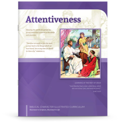 Attentiveness booklet cover