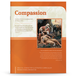 Picture of compassion booklet cover
