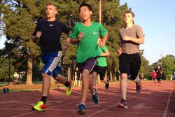 Part of the physical training at Quest involved running.