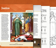 Justice booklet cover