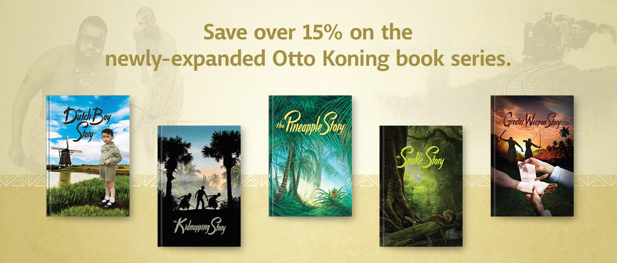 Otto Koning Book Series - Newly-expanded