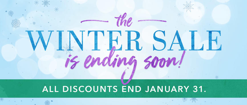 Winter Sale ends January 31!