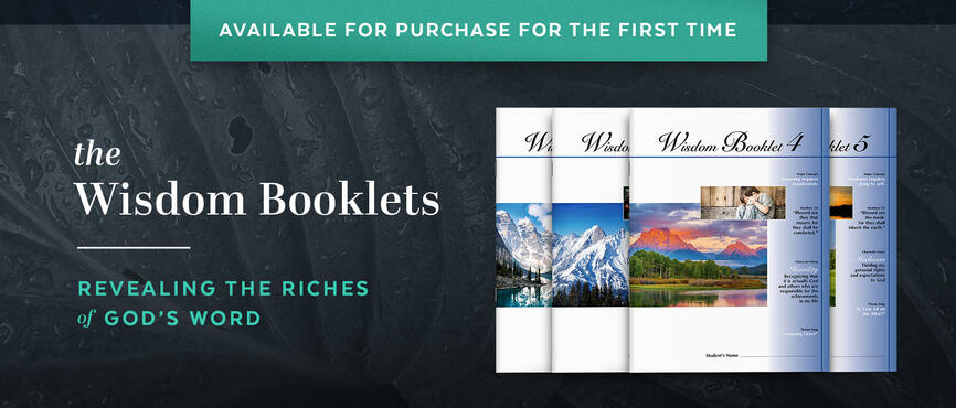 Wisdom Booklets now available - no membership required!